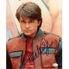 "Michael J. Fox Autographed ""Back to the Future"" 8"" x 10"" Photograph (Unframed)"