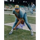 "Mike Caldwell Autographed Milwaukee Brewers 8"" x 10"" Photograph (Unframed)"
