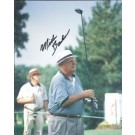 "Miller Barber Autographed Golf 8"" x 10"" Photograph (Unframed)"