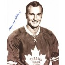 "Murray Oliver Autographed Toronto Maple Leafs 8"" x 10"" Photograph (Unframed)"