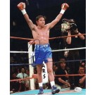 "Oscar De La Hoya ""Celebrating"" Autographed Boxing 8"" x 10"" Photograph (Unframed)"