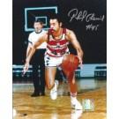 """Phil Chemier Autographed Washington Bullets 8"""" x 10"""" Photograph (Unframed)"""