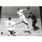 "Phil Rizzuto Autographed New York Yankees 16"" x 20"" Action Photograph (Unframed)"