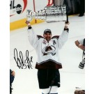 """Ray Bourque """"With Stanley Cup"""" Autographed Colorado Avalanche 8"""" x 10"""" Photograph Hall of Famer (Unframed)"""