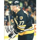 """Ray Bourque """"Action"""" Autographed Boston Bruins 8"""" x 10"""" Photograph Hall of Famer (Unframed)"""