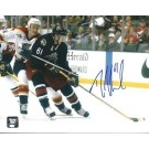 "Rick Nash Autographed Columbus Blue Jackets 8"" x 10"" Photograph (Unframed)"