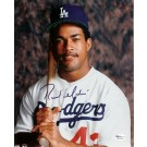 "Raul Mondesi Autographed Los Angeles Dodgers 8"" x 10"" Photograph (Unframed)"