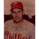 "Robin Roberts Autographed Philadelphia Phillies 8"" x 10"" Photograph Deceased Hall of Famer (Unframed)"