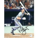 """Robin Yount """"With Bat"""" Autographed Milwaukee Brewers 8"""" x 10"""" Photograph (Unframed)"""