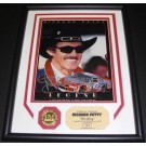"Richard Petty Autographed 8"" x 10"" Custom Framed Photograph with Highland Mint Coin"