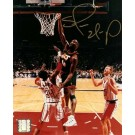 "Shawn Kemp Autographed Seattle Supersonics 8"" x 10"" Photograph (Unframed)"