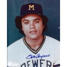 "Sixto Lezcano Autographed Milwaukee Brewers 8"" x 10"" Photograph (Unframed)"