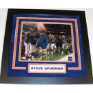 "Steve Spurrier Autographed Florida Gators 1996 National Championship 8"" x 10"" ""Gatorade"" Custom Framed Photograph"