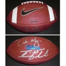 Tim Tebow and Urban Meyer DUAL Autographed Official Gators Game Model Football