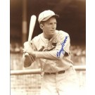 "Terry Moore Autographed St. Louis Cardinals 8"" x 10"" Photograph (Deceased) (Unframed)"