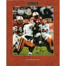 "Tommie Frazier Autographed ""75 Yards Run"" 8"" x 10"" Photograph (Unframed)"