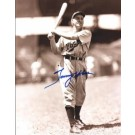 """Tommy Holmes Autographed Boston Braves 8"""" x 10"""" Photograph (Deceased) (Unframed)"""