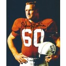 "Tommy Nobis Autographed Texas Longhorns 8"" x 10"" Photograph 1963 National Champions (Unframed)"