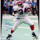 "Thurman Thomas Autographed Buffalo Bills 16"" x 20"" Photograph with ""1991 MVP"" Inscription (Unframed)"