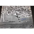 """Whitey Ford Autographed New York Yankees 16"""" x 20"""" Action Photograph (Unframed)"""