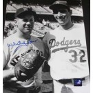 """Whitey Ford Autographed New York Yankees 8"""" x 10"""" Photograph with Sandy Koufax (Unframed)"""