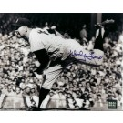 """Whitey Ford Autographed New York Yankees 8"""" x 10"""" Action Photograph (Unframed)"""