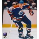 "Wayne Gretzky Autographed Edmonton Oilers 8"" x 10"" Action Photograph Stanley Cup Champs (Unframed)"
