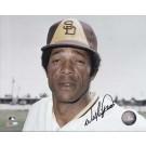 "Willie Davis Autographed San Diego Padres 8"" x 10"" Photograph (Unframed)"