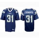 Antonio Cromartie San Diego Chargers #31 Replica Reebok NFL Football Jersey (Dark Navy)