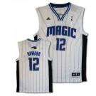 Dwight Howard Orlando Magic #12 Revolution 30 Replica Adidas NBA Basketball Jersey (White)