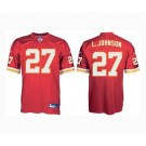 Larry Johnson Kansas City Chiefs #27 Authentic Reebok NFL Football Jersey (Scarlet)
