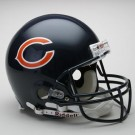 Chicago Bears NFL Riddell Authentic Pro Line Full Size Football Helmet