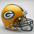 Green Bay Packers NFL Riddell Authentic Pro Line Full Size Football Helmet