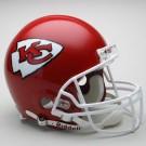 Kansas City Chiefs NFL Riddell Authentic Pro Line Full Size Football Helmet