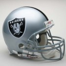 Oakland Raiders NFL Riddell Authentic Pro Line Full Size Football Helmet