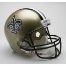 New Orleans Saints NFL Riddell Authentic Pro Line Full Size Football Helmet