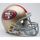 San Francisco 49ers 2009 NFL Riddell Authentic Pro Line Full Size Football Helmet
