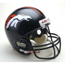 Denver Broncos NFL Riddell Full Size Deluxe Replica Football Helmet