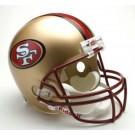 San Francisco 49ers 1996-2008 NFL Riddell Deluxe Replica Throwback Full Size Football Helmet