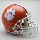 Clemson Tigers NCAA Pro Line Authentic Full Size Football Helmet From Riddell