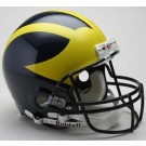 Michigan Wolverines NCAA Riddell Pro Line Authentic Full Size Football Helmet From Riddell
