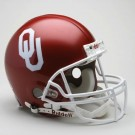Oklahoma Sooners NCAA Pro Line Authentic Full Size Football Helmet From Riddell