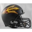 Arizona State Sun Devils NCAA Pro Line Authentic Full Size Football Helmet From Riddell (Black)