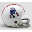 New England Patriots NFL Riddell Replica Mini Throwback Football Helmet  (1965 - 1981)