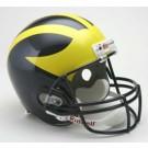 Michigan Wolverines NCAA Riddell Full Size Deluxe Replica Football Helmet