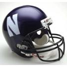 Northwestern Wildcats NCAA Riddell Full Size Deluxe Replica Football Helmet