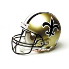 """New Orleans Saints (1976 - 1999) Riddell Full Size """"Old Style Throwback"""" Authentic Football Helmet"""