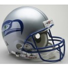 """Seattle Seahawks (1983 - 2001) Riddell Full Size """"Old Style Throwback"""" Authentic Football Helmet"""