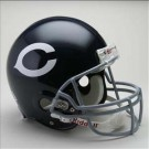 "Chicago Bears (1962 - 1973) Riddell Full Size ""Old Style Throwback"" Authentic Football Helmet"