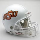 Oklahoma State Cowboys NCAA Pro Line Authentic Full Size Football Helmet From Riddell